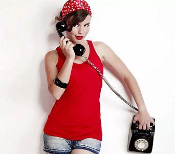 τηλεφωνικό σεξ με κοπέλα